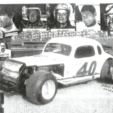 Owned by Harold Smith-driver: Monk Tate