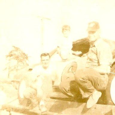 Monk, Ernie McBroom and David Kemp