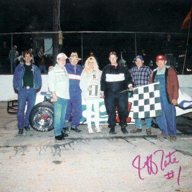 Jeff's 1st win at Franklin Co