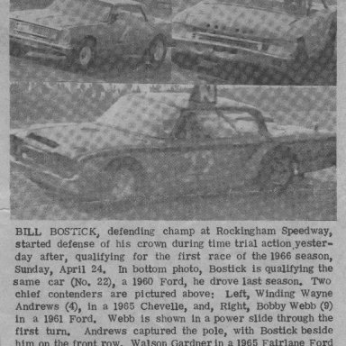 1966 press clipping