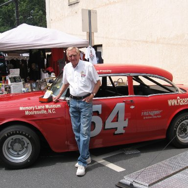 Jimmy Johnson and the famous car 54