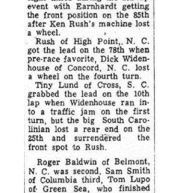 Rambi Raceway -September 5, 1964