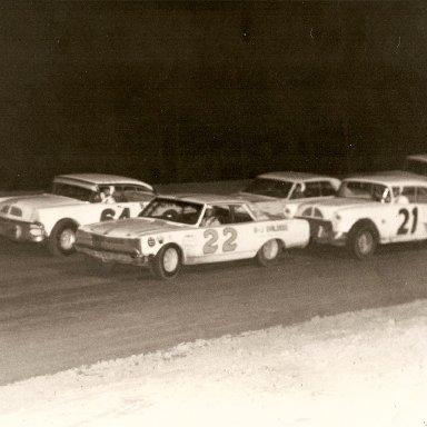 22 car at  Summerville Speedway