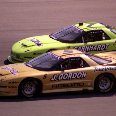 97 iroc Jeff Gordon & Dale Earnhardt
