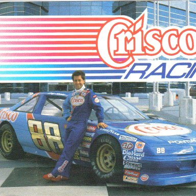1989 #88 Greg Sacks Crisco