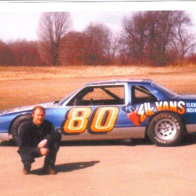 1983 #80 Bob Senneker Elk Vans