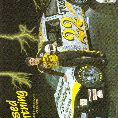 1993 #22 Ed Berrier Greased Lightning BGN
