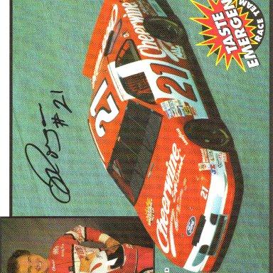 1994 #21 Morgan Shepherd Cheerwine BGN
