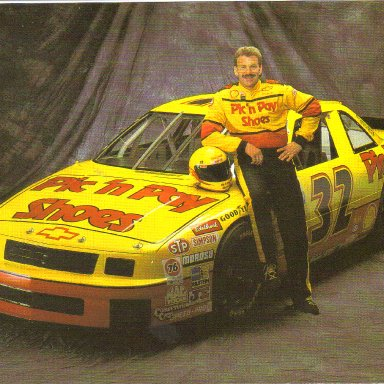 1993 #32 Dale Jarrett Pic N Pay BGN