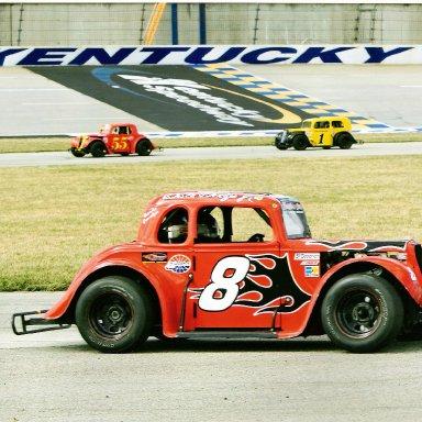 Dale Dodge Jr at Kentucky Motor Speedway