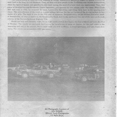 Summerville Speedway 69 p2 inside cover