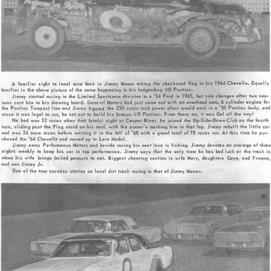 Summerville Speedway 69 p20 Jimmy Maner