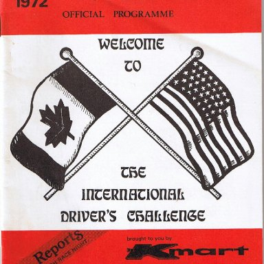 IDC. Programme cover 1972.