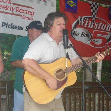 RaymondParksBDayParty Jay playing