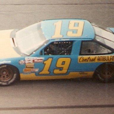 Bill Ingram in Henley Gray owned car