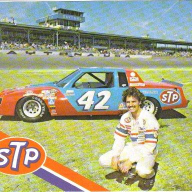 1981 #42 Kyle Petty STP