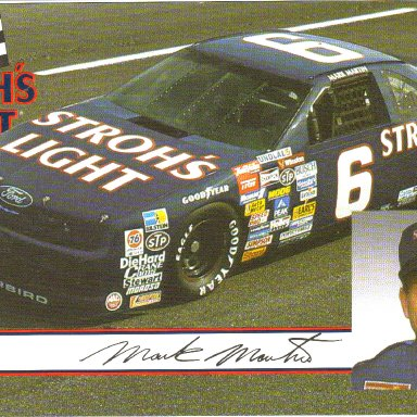 1989 #6 Mark Martin Strohs Light