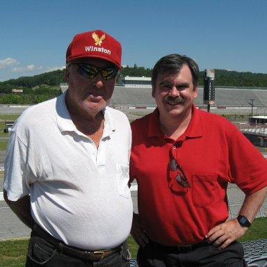 w/ Paul Call @N Wilkes Speedway