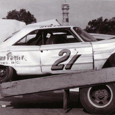 1964 Junior Johnson Southern 500 crash