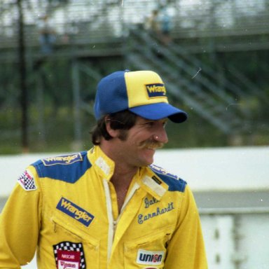 Dale Sr. 1981 Pocono Race