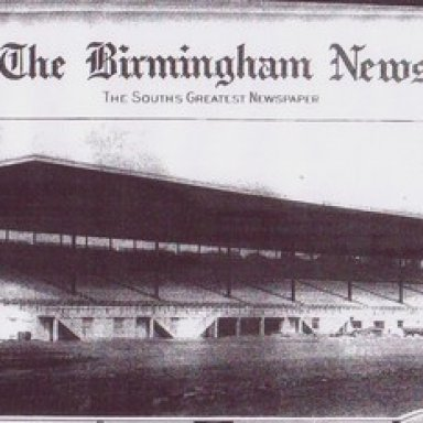 The grandstands at BIR were big news when they were first erected