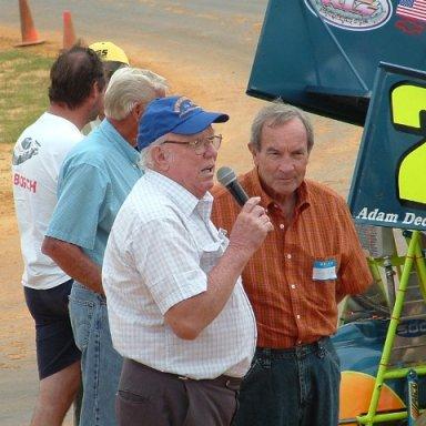 RaceReunion2008 Freddy Fryar and Fats Harverson