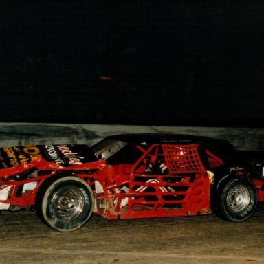 "John Sawatsky ""BANDIT RACING"" Checker Flag 1986"