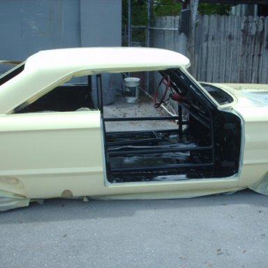 64 Darlington car at paint shop 9-1-09 004
