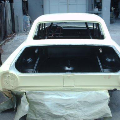 64 Darlington car at paint shop 9-1-09 006