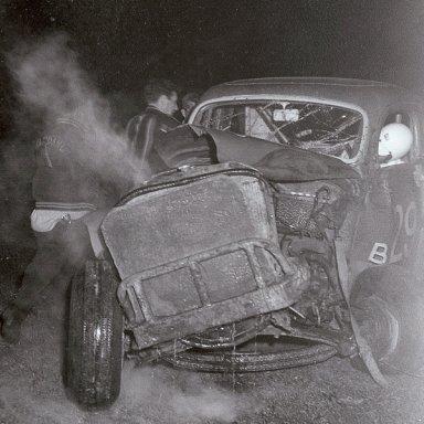 Dick May unconscious 1963 Crash