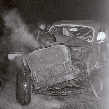 Dick May unconscious 1963 Crash