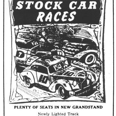 Coastal Speedway - 1955