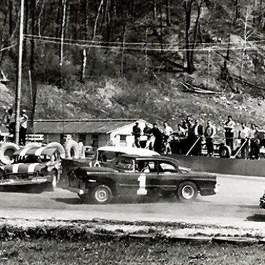 Cloverleaf Speedway Turn 3