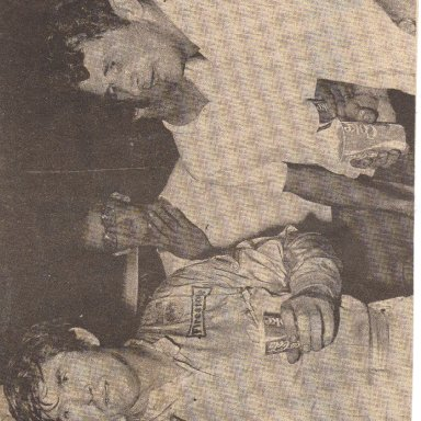 Bob Pressley and Benny Kerley Hickory 1972