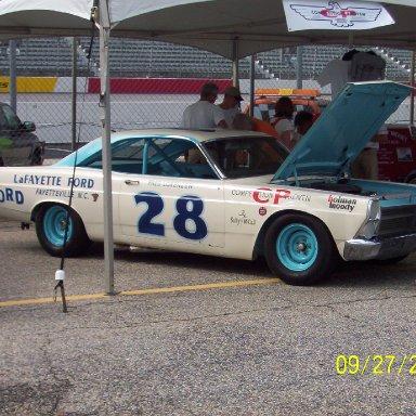 Darlington Historical Racing Festival 2009