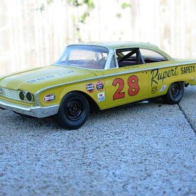 Fred Lorenzen 1960 NASCAR Rookie Ride