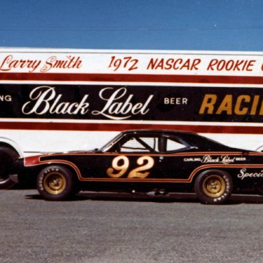 Larry Smith #92 in 1972