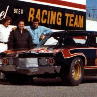 Larry Smith, Eddy Stafford & Kenny Barlowe 1972, Lenoir, NC