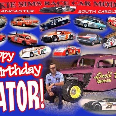 GATOR'S BIRTHDAY COLLAGE