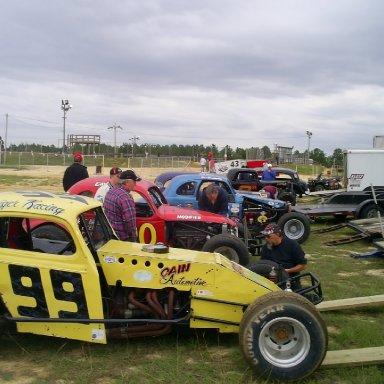 Hammerdown Speedway, Red Springs, NC 10-17-09