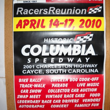 Flyer for next RR Event in 2010.