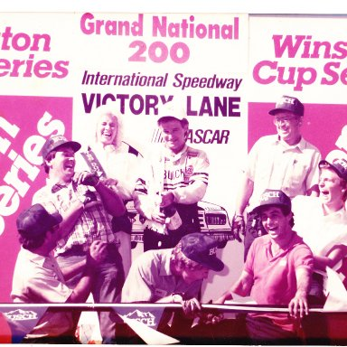 Victory Lane at Dover