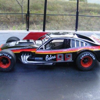 replica of Ed Hoyles cobra