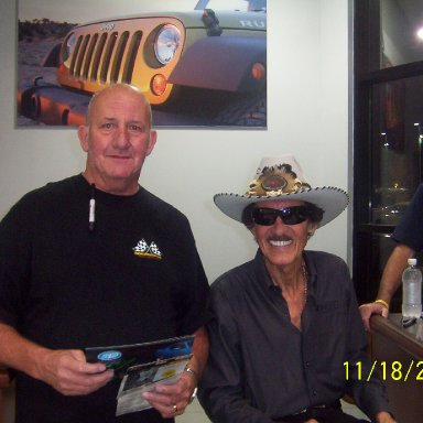 Richard Petty at Mike Addy Dodge 004