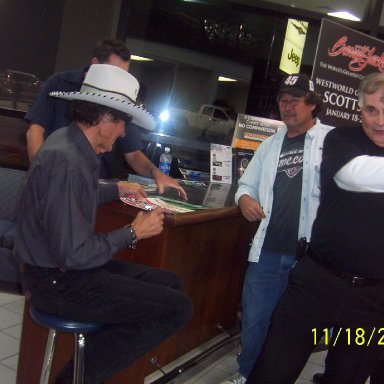 Richard Petty at Mike Addy Dodge 006