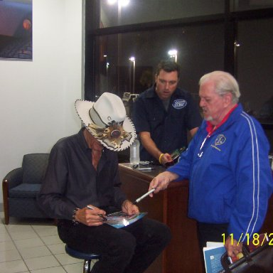 Richard Petty at Mike Addy Dodge 009