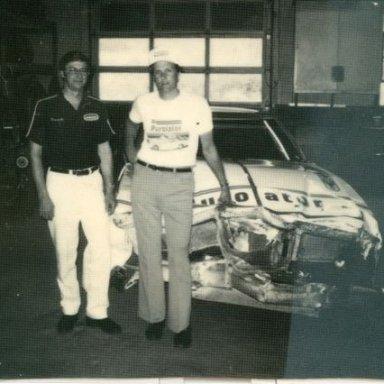 Emailing: Leonard Wood  Harlow just back from- -Daytona 1976