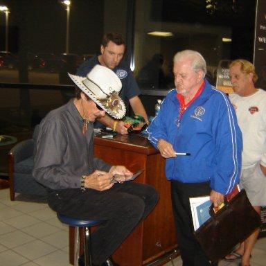 Richard Petty and Jim Seay