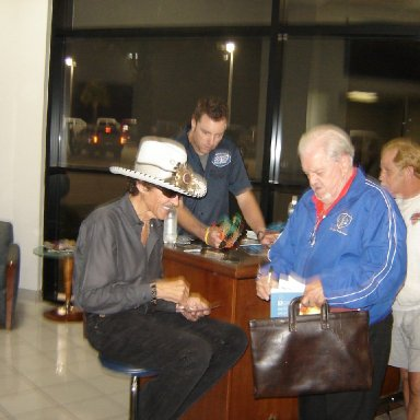 Richard Petty and Jim Seay