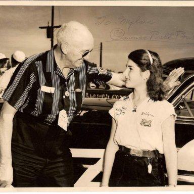 Cannonball Baker & Marilynn